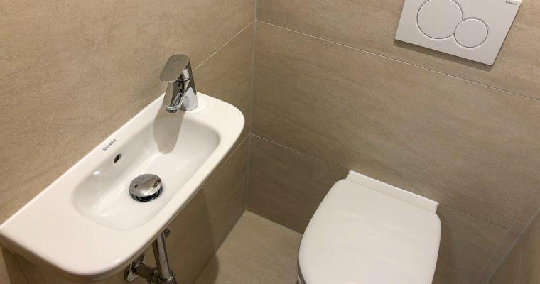 Neue Toiletten
